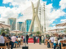 Nova opção para eventos, Parque Estaiada promete entretenimento à altura de São Paulo