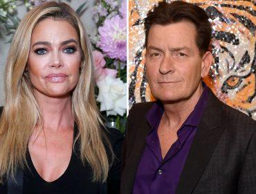 Ex de Charlie Sheen, Denise Richards revela que o ator lhe deve quase R$ 2 milhões em pensões