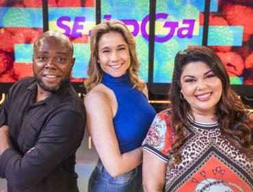 """Fernanda Gentil, Érico Brás e Fabiana Karla dão um break no stress com o """"Se Joga"""". Vem saber!"""