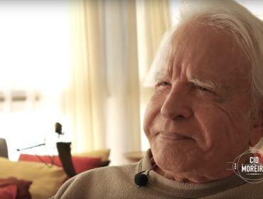 Cid Moreira vira youtuber prestes a completar 92 anos e vai comemorar com festão dos bons