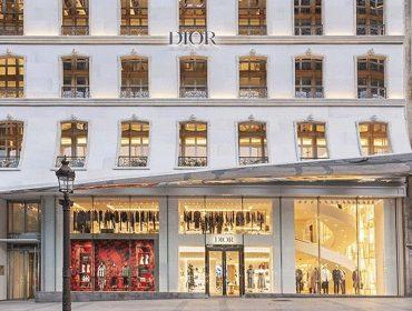 Dior leva todo seu charme para a icônica Champs-Élysées em Paris