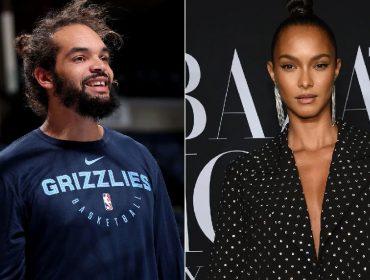 Top brasileira Lais Ribeiro e astro americano da NBA Joakim Noah anunciam noivado