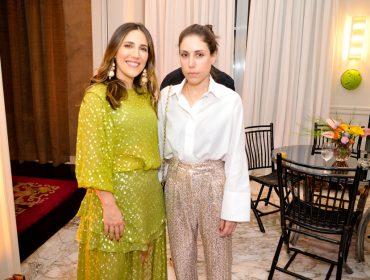 Lilly Sarti lança coleção com jantar chez Ana Paula Junqueira