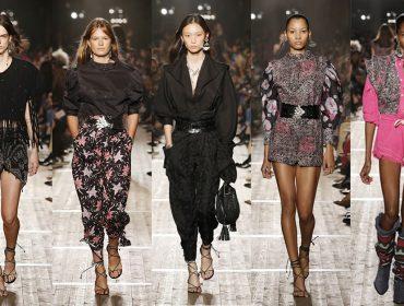 Brasil foi inspiração de Isabel Marant para coleção desfilada em Paris ao som de muito batuque