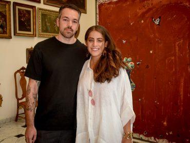 """Camila Yunes Guarita recebe turma artsy para mostra """"Cenas de Casa"""" de Paulo Nimer Pjota"""