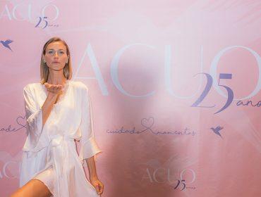 Acuo comemora 25 anos da marca com agito no Noma Sushi