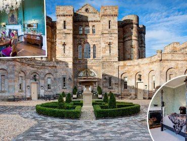 Castelo histórico da Escócia que serviu de refúgio para a rainha Mary é colocado à venda pela segunda vez em 230 anos