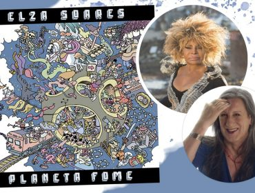 """Laerte assina a capa de """"Planeta Fome"""", novo CD de Elza Soares, e afirma: """"Minha intenção era produzir uma sensação de caos"""""""