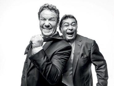 """Claude Troisgros e Batista comemoram programa na Globo na PODER: """"Eu não tô a cara do deputado do A Praça É Nossa?!"""""""