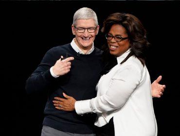 Parceria da Apple com Oprah Winfrey rende frutos para empresa antes mesmo de começar… Entenda!