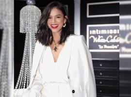Bruna Marquezine brilha ao lado de estrelas internacionais em desfile da Intimissimi na Itália