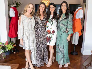 Fabi Saad recebe convidados em sua casa para apresentar o projeto social e ambiental do Txai Resorts