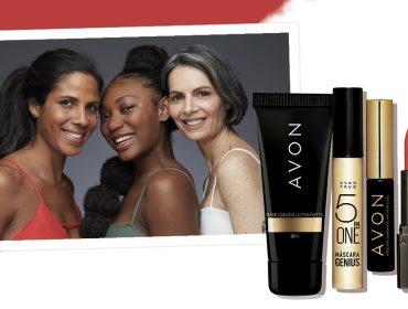 Inspirada nos desejos e necessidades dos consumidores, Avon relança sua linha de maquiagem