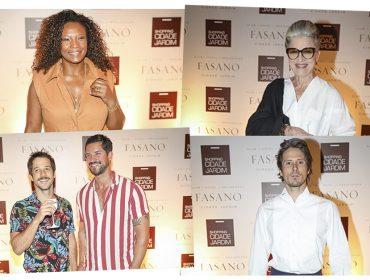 Bem vestidos! Espaço do Cidade Jardim na festa da J.P reuniu turma de fashionistas. Aos detalhes!