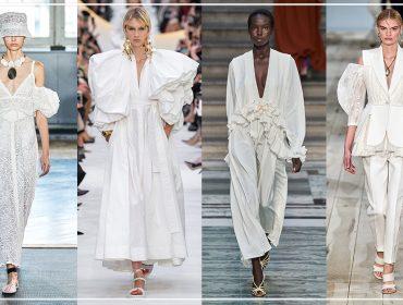 Looks brancos são unanimidade para a próxima estação. Confira nossa seleção de looks e se joga!