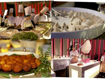 Buffet Charlô serviu o melhor da alta gastronomia aos convidados do aniversário da  J.P. Ao menu!
