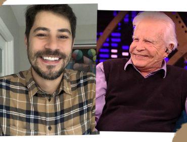 Cid Moreira tira sarro de Evaristo Costa nas redes sociais e ganha elogio de Tatá Werneck… Entenda!