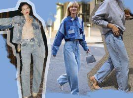 Chega de 'mom jeans'! O mundo da moda está de olho no 'grandpa jeans'. Se liga na tendência!