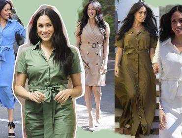 Meghan Markle já elegeu o vestido queridinho da temporada. Ao 'uniforme fashionista' da duquesa!