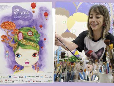 Nina Pandolfo fala das referências usadas na criação do cartaz da 43ª Mostra Internacional de Cinema