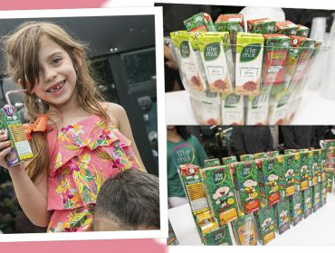 Salada mista! Teve sucos e chás Life Mix no nosso Piquenique de Dia da Crianças