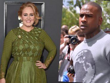 Adele é vista em clima de romance com rapper Skepta e fãs comemoram o crush