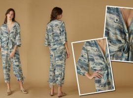 Desejo do dia: Puro charme na camisa com manga estilo kimono da Le Soleil D'été