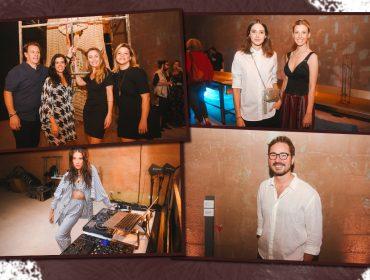 Muita arte e gente boa na ocupação do Bioma Salon Aveda pelo projeto ECOAR. Espia quem deu pivô por lá!