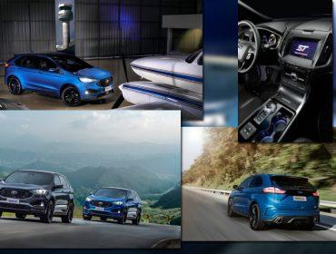 Novo Ford Edge ST vai levar os glamurettes e ainda estacionar no festão de aniversário da J.P