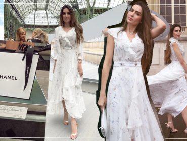 Iara Jereissati rouba a cena em primeira fila do desfile Primavera 2020 da Chanel em Paris