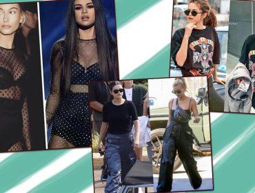 Eita! Selena Gomez, ex de Justin Bieber, é inspiração fashion de Hailey Bieber, a atual do cantor…
