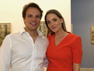 Galeria Simões de Assis armou jantar em torno da exposição do Miguel Bakun, nessa terça, em São Paulo