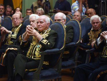 Ignácio de Loyola Brandão toma posse na Academia Brasileira de Letras