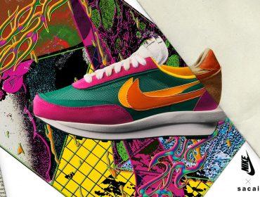 Desejo do Dia: O tênis da Nike em parceria com a Sacai que traz uma vibe arco-íris