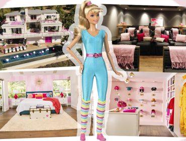 Que tal morar na Casa da Barbie em tamanho real? Isso já é possível em Malibu