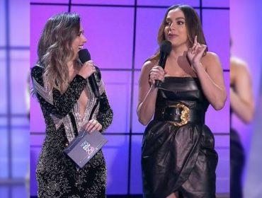 """Tatá Werneck faz previsão sobre """"fertilidade"""" dos apresentadores do Prêmio Multishow e indica: """"Anitta é a próxima"""""""