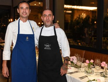 Henrique Fogaça e François Perret pilotam jantar no Sal do Cidade Jardim