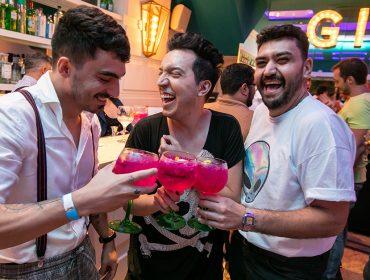 G&T Bar arma um burburinho de preview do Réveillon Welcome 2020