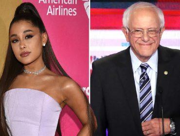 Ariana Grande e Bernie Sanders, que quer concorrer à Casa Branca, trocam elogios no Twitter