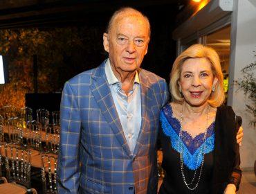 Bete e Marcos Arbaitman abriram sua casa para jantar em torno de médicos israelenses