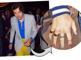 Unha colorida para homens? Harry Styles é a prova de que moda não tem gênero