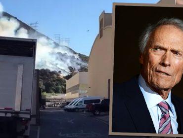 Clint Eastwood e equipe enfrentam incêndios florestais da California para finalizar seu novo filme. Entenda!