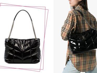 Desejo do dia: a versão 'puffer' da bolsa tiracolo LouLou da Saint Laurent