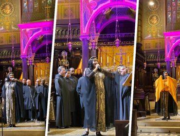 Fortuna e Coro dos Monges Beneditinos do Mosteiro de São Bento fazem show inesquecível em São Paulo