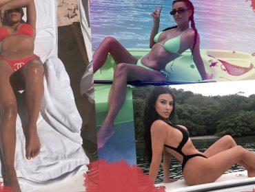 Fim de uma era! Em nome da evolução, Kim Kardashian afirma que vai parar de postar fotos de biquíni
