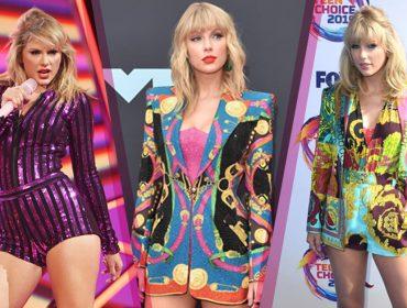 Taylor Swift mudou completamente seu estilo e está mais colorida. Inspire-se nos looks da cantora!