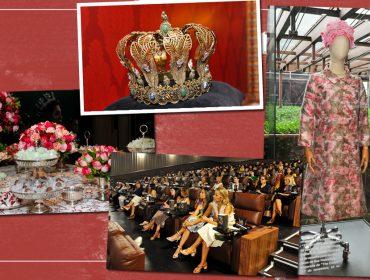 """Terceira temporada de """"The Crown"""" ganha pré-estreia e exposição no Shopping Cidade Jardim. Glamurama estava lá!"""