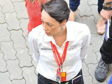 A CEO da F1 no Brasil, Claudia Ito, recebeu convidados em seu camarote para o Grande Prêmio do Brasil de Fórmula 1, neste domingo