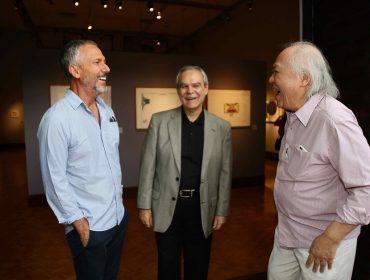 Abertura da exposição 'Leonilson por Antonio Dias – Perfil de uma Coleção' agita a Pinakotheke
