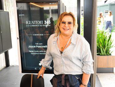 Talk com Joyce Pascowitch marca a inauguração do Studio Iguatemi 365